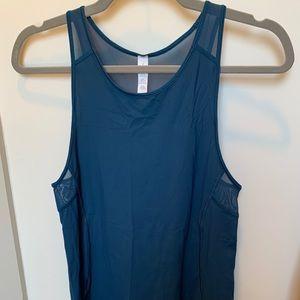 Blue lulu lemon tank, never worn!!